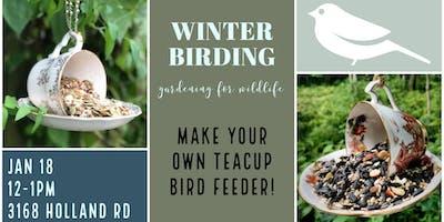 Gardening for Wildlife - Winter Birding
