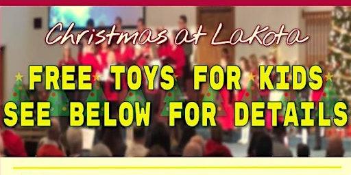 Christmas @Lakota: FREE backpacks for kids! FREE toy inside each backpack!