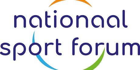 Nationaal Sport Forum tickets
