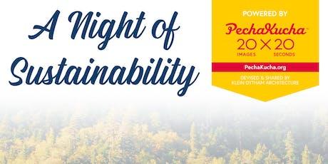 Night of Sustainability - PechaKucha @ JCU tickets