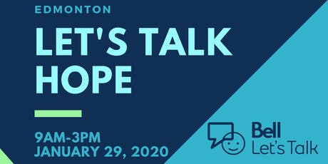 Let's Talk HOPE Edmonton tickets