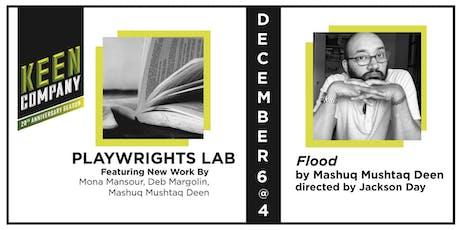 "KEEN ON NEW WORK: ""Flood"" by Mashuq Mushtaq Deen tickets"