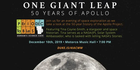 Periodic Tables: One Giant Leap: 50 Years of Apollo tickets