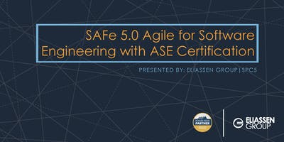 SAFe 5.0 Agile for Software Engineering with ASE Certification - Columbus - April