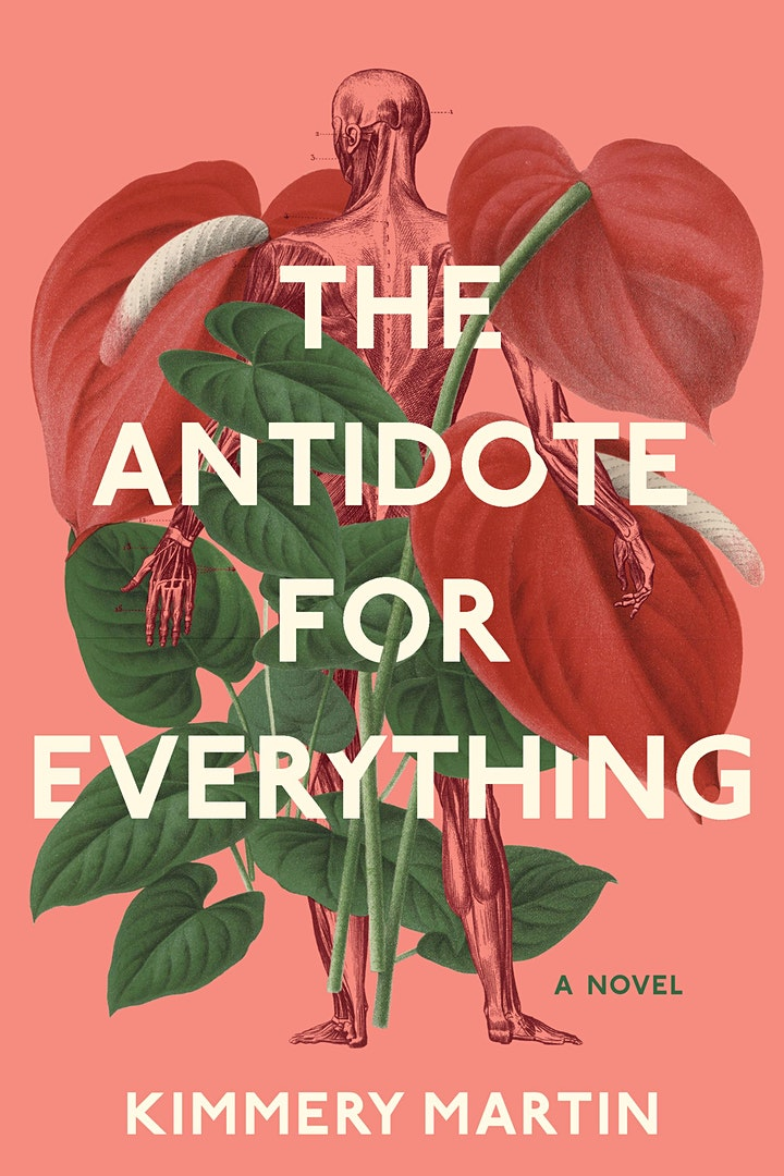 """Kimmery Martin present """"The Antidote for Everything"""" book signing and lunch image"""