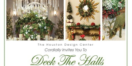 Deck the Halls & Toy Drive  at The Houston Design Center tickets