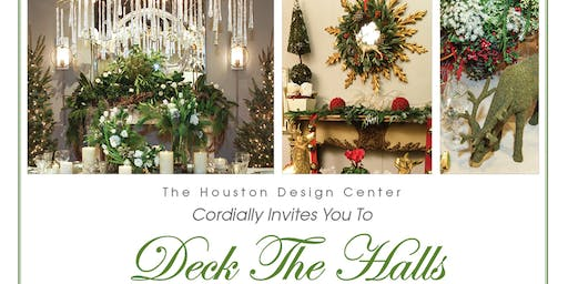 Deck the Halls & Toy Drive  at The Houston Design Center