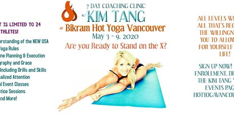 7 Day Coaching Clinic with Kim Tang tickets