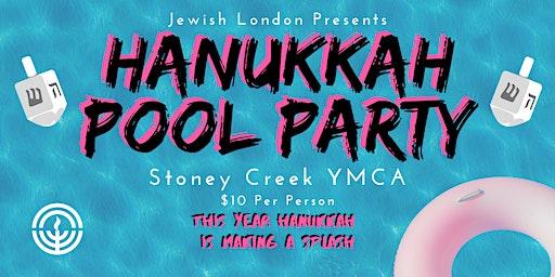 Jewish London Hanukkah Pool Party