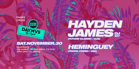 HAYDEN JAMES (DJ SET) tickets