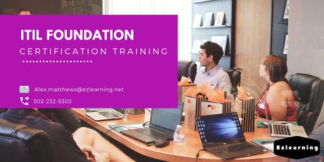 ITIL Foundation Certification Training in Fredericton, NB tickets