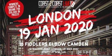 Coast 2 Coast LIVE | London 1/19/2020 tickets