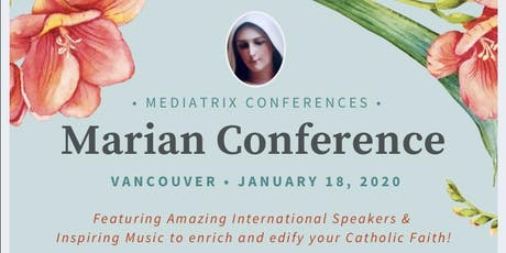 VANCOUVER MARIAN CONFERENCE 2020 tickets