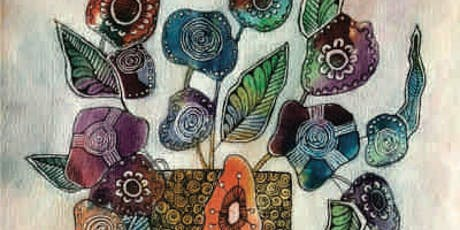 Brews & Brushstrokes - Doodle Painting: Flowers tickets