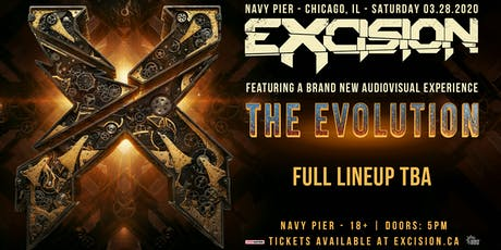Excision: The Evolution - Navy Pier tickets