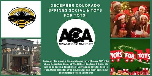 Colorado Springs December Social with Always Choose Adventures