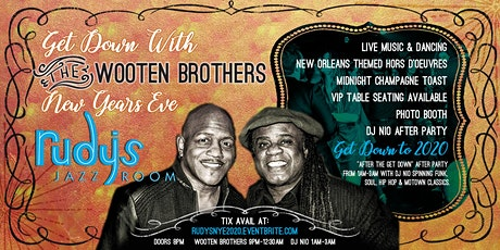 """""""The Get Down"""" with The Wooten Brothers tickets"""