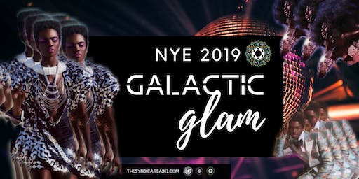 Galactic Glam NYE Party