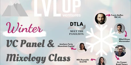Holiday VC Panel and Mixology Class (Start the New Year Right) tickets