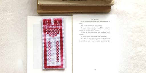 Palestinian Embroidery 101: Thobe Bookmark on Aida Cloth