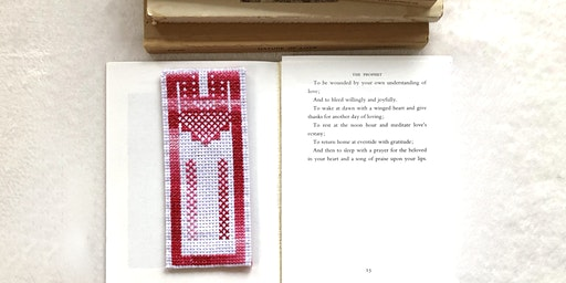 Palestinian Embroidery 101: Thobe Bookmark on Aida Cloth