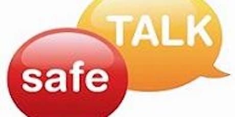 safeTALK December 11th - Sponsored by Rural Wellington Health Link tickets