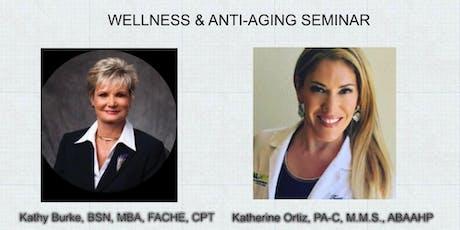 Wellness & Anti-Aging Seminar tickets