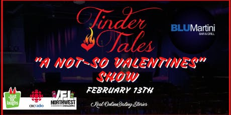 "Tinder Tales: ""A Not-So Valentine's"" Show In Kingston tickets"