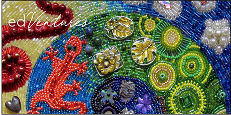 Beaded Embroidery Course – Cat Candow tickets