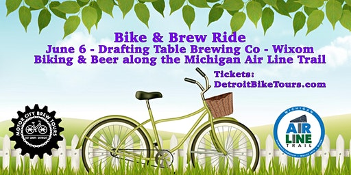 Bike & Brew Ride - Michigan Air Line Trail