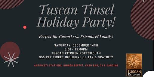Tuscan Tinsel Holiday Party