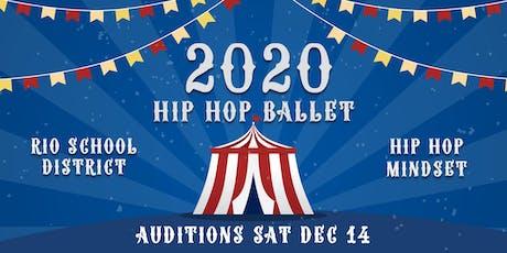 2020 Hip Hop Ballet Auditions tickets