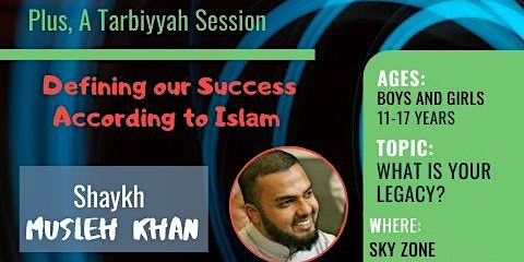 Youth Go Trampolining at Sky Zone with Shaykh Musleh Khan