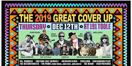 The Great Cover Up 2019 @ 191 Toole tickets