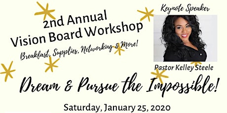 Luv Life Dream & Pursue the Impossible Vision Board Workshop tickets
