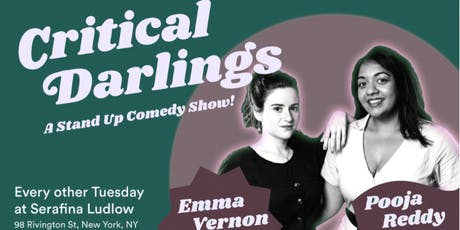Critical Darlings: A Free Stand Up Comedy Show! tickets
