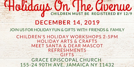 Holidays On the Avenue 2019 tickets