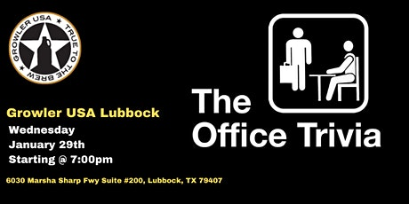 The Office Trivia at Growler USA Lubbock tickets