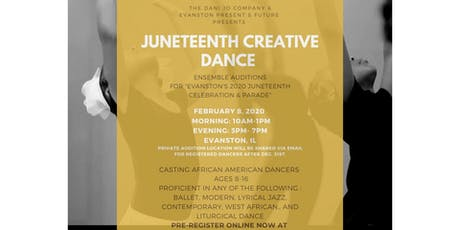 Juneteenth Creative Dance Auditions tickets
