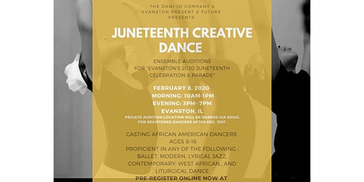 Juneteenth Creative Dance Auditions