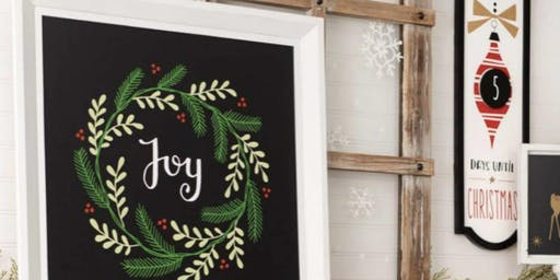 Holiday Chalk Couture Workshop 12/06/19