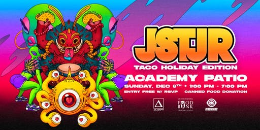 JSTJR: Charity Taco Event