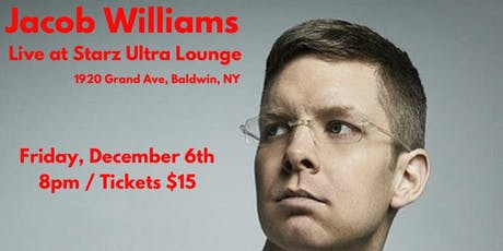 Jacob Williams Comedy Show tickets