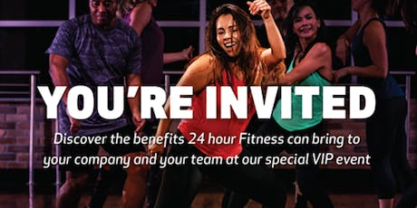 24 Hour Fitness Houston Heights - VIP Night/Re-Grand Opening tickets