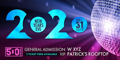 New Year's Eve at 500 Pearl tickets