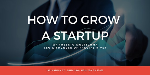 How to Grow a Startup   Roberto Moctezuma, Founder & CEO, Fractal River