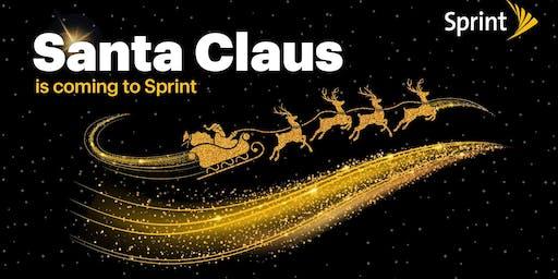 Santa's coming to Sprint!