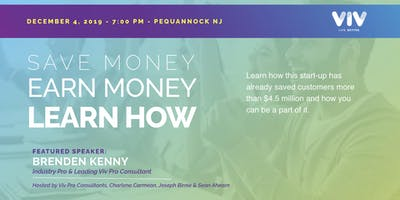 Pequannock, NJ - Save Money, Earn Money, Learn How!
