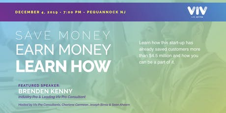 Pequannock, NJ - Save Money, Earn Money, Learn How! tickets