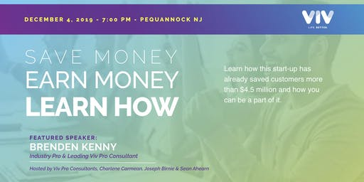 Pequannock, NJ - Save Money, Earn Money, Learn How!